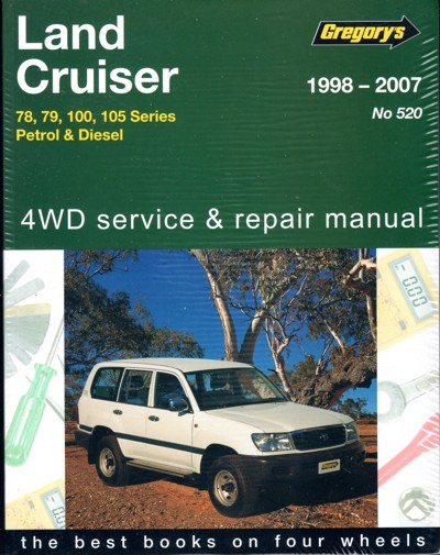 toyota landcruiser petrol and diesel 78 79 100 105 series repair rh landcruiserworkshopmanual com au gregorys workshop manuals free downloads gregorys workshop manuals free downloads