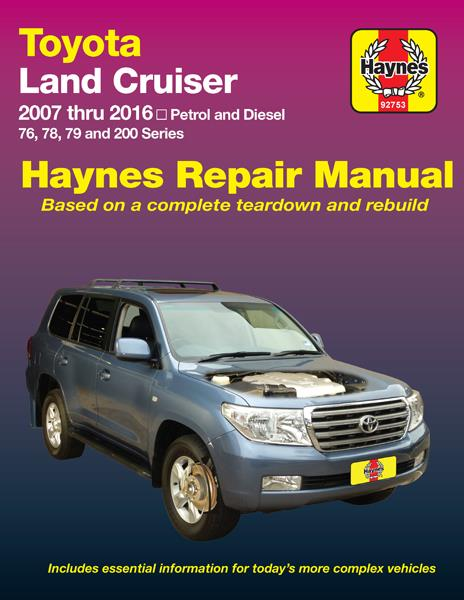 manual toyota land cruiser 2010